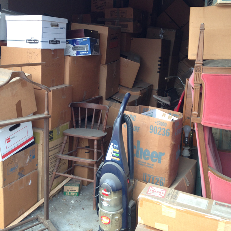 Storage Unit Maddness